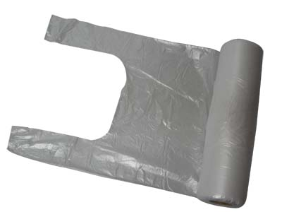 HDPE shopping bag 3kg, ON ROLL