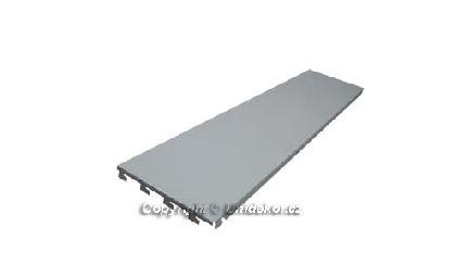 Hybridní zadní panel plný 1250x200x0,6 mm