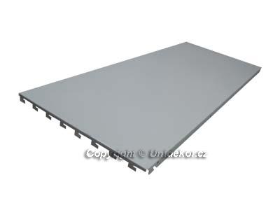 Hybridní zadní panel plný 1250x400x0,6 mm