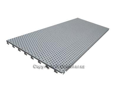 HYBRIDNÍ zadní panel děrovaný 1000x400x0,9 mm