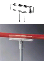 Držák ze teleskopické tyče na rám