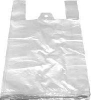HDPE mikroténové tašky mléčná silná, nosnost 4kg.