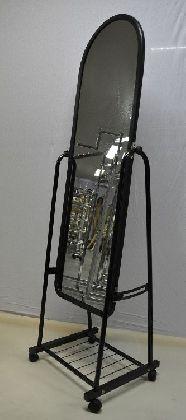 Pojizdné zrcadlo černé