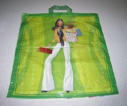 LDPE tašky s motivem holka s kabelkama