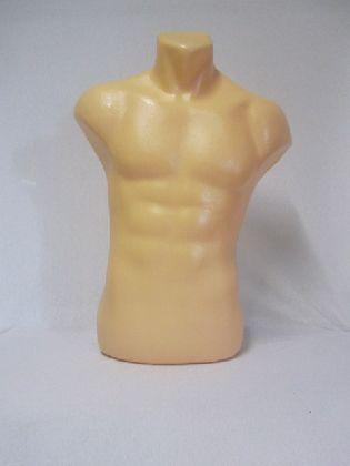 Pánská busta tělové barvy