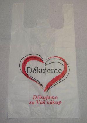 HDPE mikroténové tašky potisk