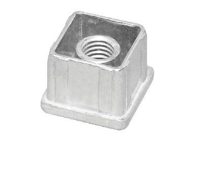 Slitinová vložka do jeklu 25x25mm se závitem M10
