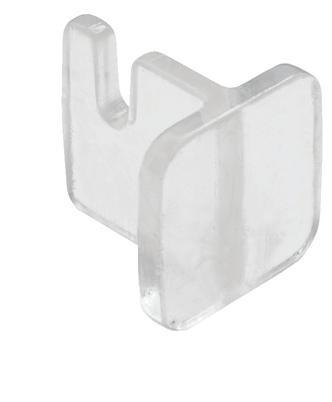 Plastový fixní držák na dřevěný panel k profilu