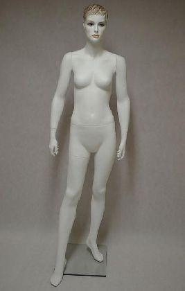 Dámský manekýn,bílá barva