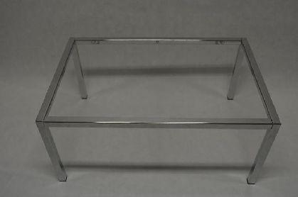 Pochromovaný rám prodejního stolu 900x600x400