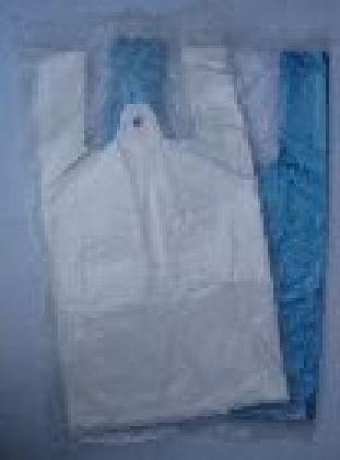 HDPE mikrotenové  tašky transparent 4kg