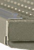 Upevňovací lišta OPB-F pro regálové děliče,1000mm