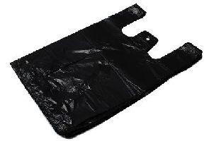 HDPE mikrotenové tašky černé, 25kg