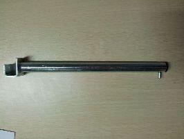 Rameno rovné na hranatý profil 20mm, 400mm, pozink