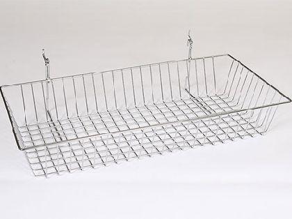 Koš na síť nebo na Slatwall 60x30x15cm