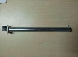 Rameno rovné na hranatý profil 20mm, 350mm,pozink