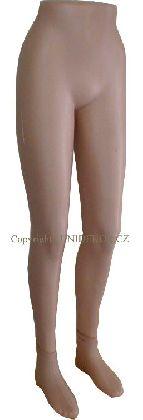 Nohy dámské béžové.