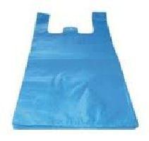 HDPE mikroténové tašky 10kg, blok, modrá, EXTRA SILNÁ