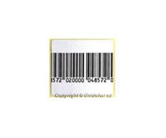 Papírová etiketa 8,2Mhz.