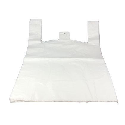 HDPE mikroténové tašky 25kg, JUMBO mléčné