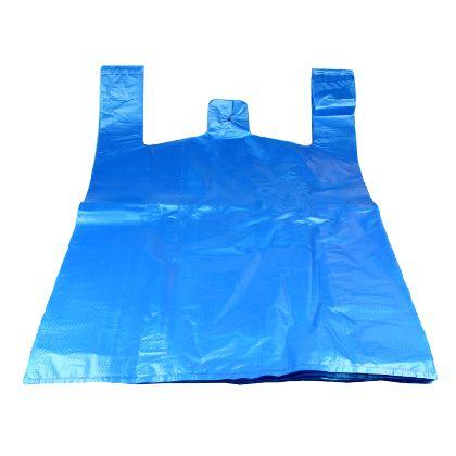 HDPE mikroténové tašky 25kg, JUMBO modrá