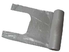 HDPE shopping bag 5kg on roll