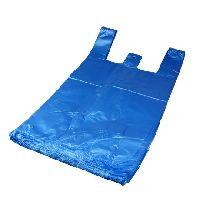 HDPE mikroténová taška modrá 10kg v bloku, EXTRA SILNÁ