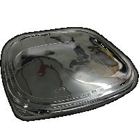 Sushi box s vičkem černý BOPS 350x350x55 25ks/2bal