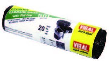 HDPE černý sáček 50L EKO/20ks/40rol/60x71/8my/130g