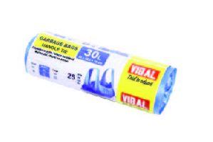 Modrý sáček 30L zavaz./30ks/30r/48x49+8/11my/210gr