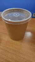 Míska papírová na polévku550ml/18oz s PP,50ks/4bal