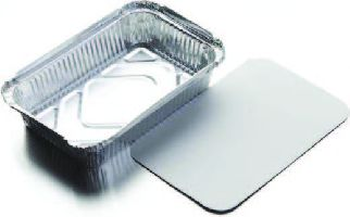 10PK ALU FOIL TRAY W/LID 11.2g/pc(net weight)10bal