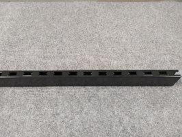 Stojina oboustranná v:140cm,30x60x2,5mm,černá