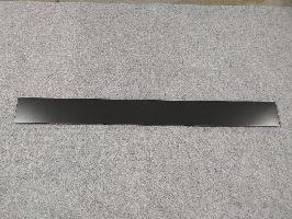 Zadní panel plný 1000x100x0,5mm,černá