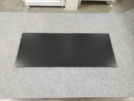 Zadní panel plný 1250x400x0,6mm- Hybrid, černá