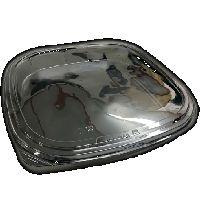BOPS černý Sushi Box s víčkem 270x270x53/25ks/8bal