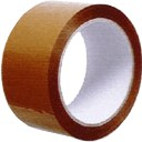 Balící lepící páska,hnědá, 48mm x 66m