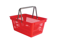 Plastový nákupní košík se 2 držadly.
