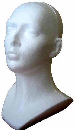 Polystyrénová hlava