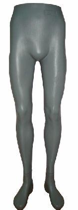Nohy pánské šedé