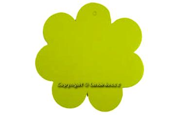 Visačky 'Flower' žluté.
