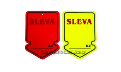 Visačky šipka 105x148mm SLEVA