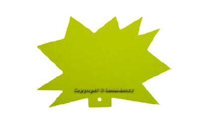 Visačky 'Ježek' 120x88, žluté