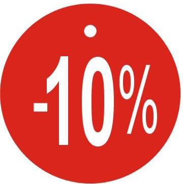 Visačky kulaté Ø45mm, -10%
