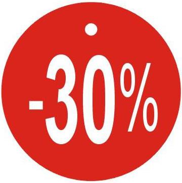 Visačky kulaté,Ø45mm, -30%