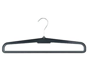 Plastic hanger for trousers, 37cm.