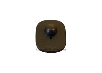 Pevná etiketa 42x46mm černá, 8,2Mhz