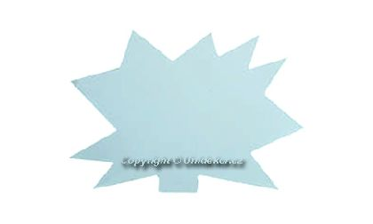 Visačky 'Ježek' 120x88, bílé