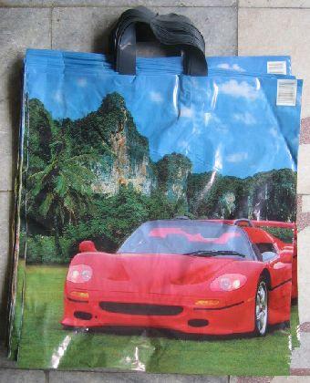 LDPE tašky s motivem Auto